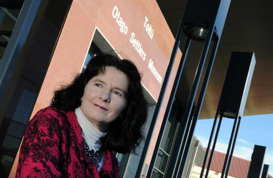 Jennifer Evans, recently appointed as director of the Toitu Otago Settlers Museum. Photo by Craig...