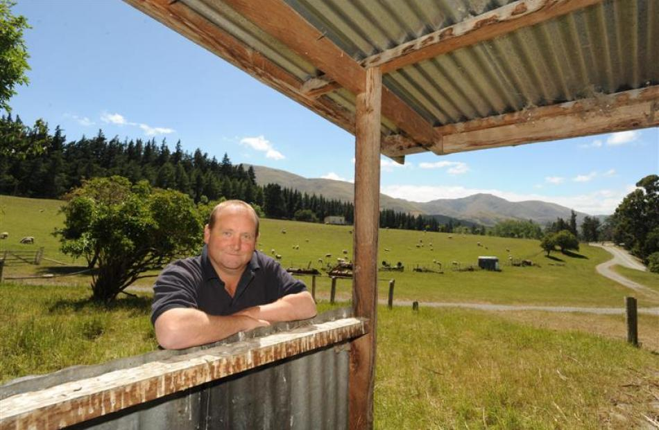 Johnny Bell on his family's historic property, Shag Valley Station. Photos by Peter McIntosh.