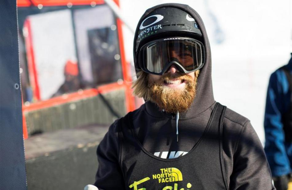 Jossi Wells had to be content with third in yesterday's The North Face Freeski Open of New...