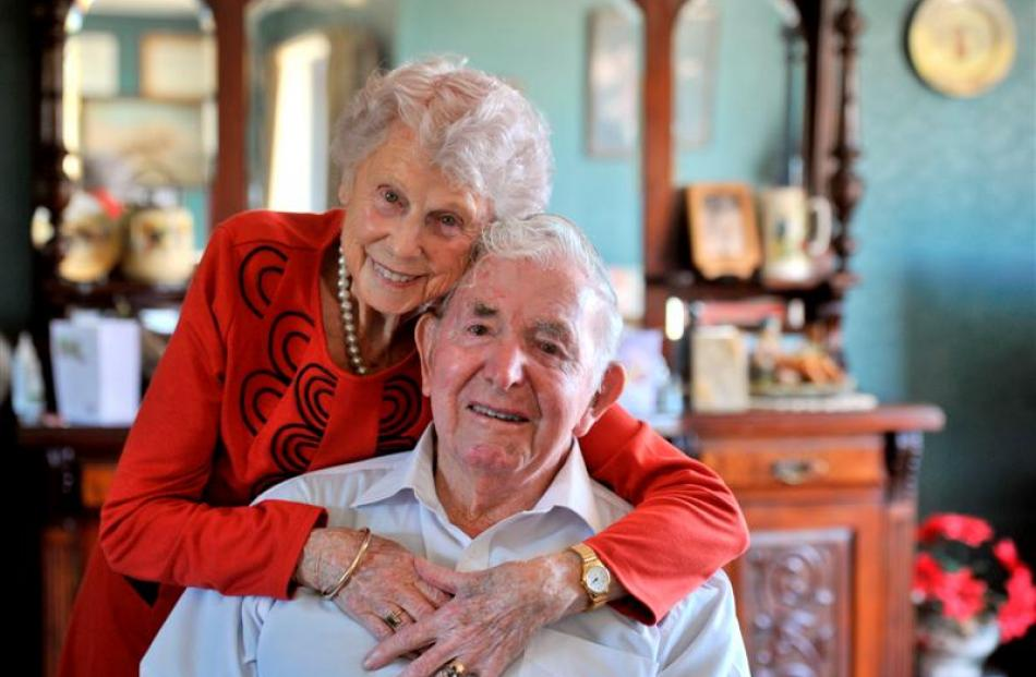 Kath (88) and Pop (91) Winmill show they are 'still very much in love' after 65 years of marriage...