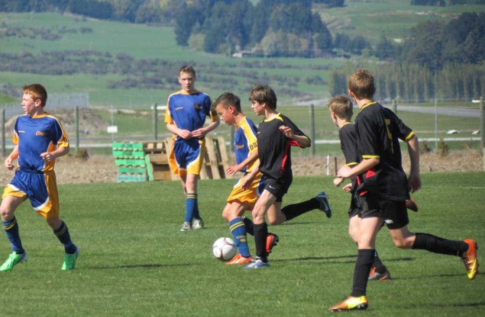 South Island 13th Grade Football Championships Otago