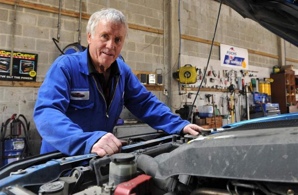 Ken Mitchell is retiring after working at Mosgiel's Lean McLeod  Auto Services for 50 years....