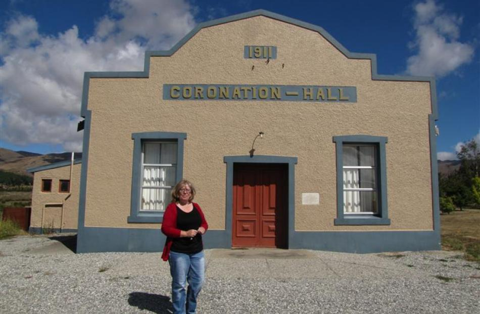 Kerry Stainton-Herbert, chairwoman of the Bannockburn Community Centre Management Committee, with...