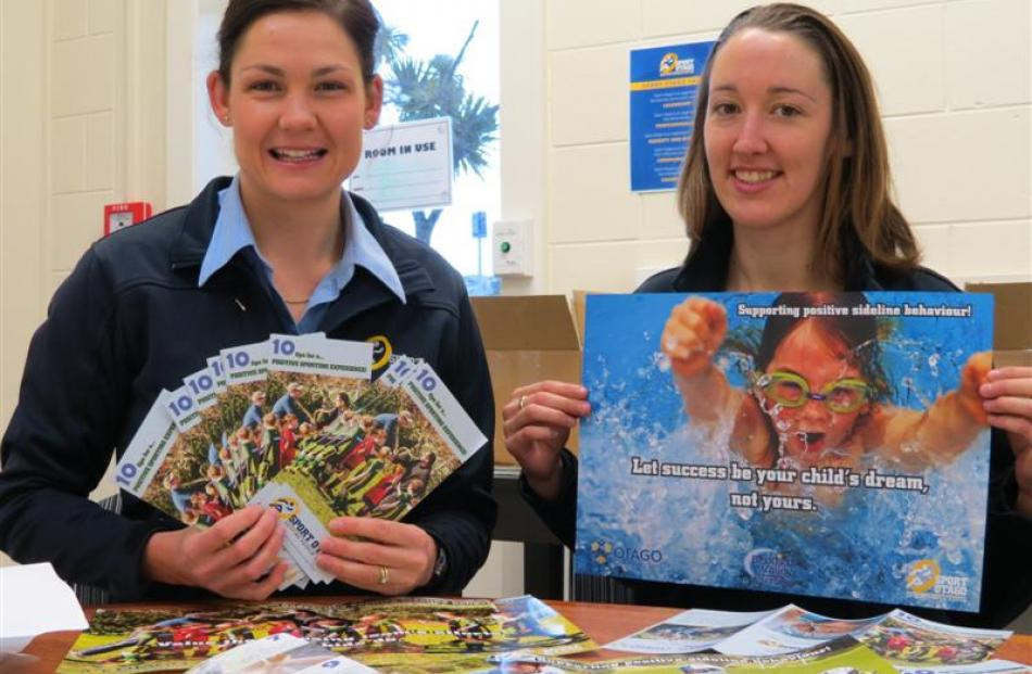 Key messages will be promoted as part of Sport Otago's Sideline Behaviour Project aimed at...