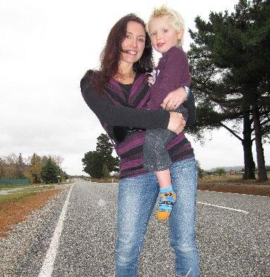 Kim Coll, of Hawea Flat, with son Dean. Mrs Coll is hoping for a part in an advertisement based...