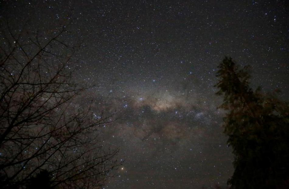 Lake Hawea residents  are considering how to protect their view of the night sky from light...