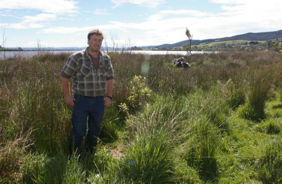 Lake Waihola Waipori Wetlands Society chairman Robert Girvan says that glyphosate spraying to...