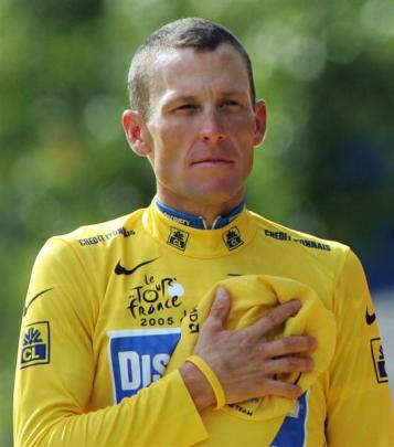 Lance Armstrong. Photo by Reuters.