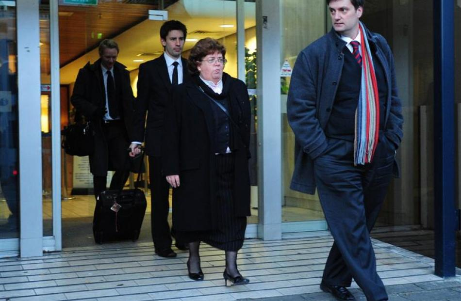 Lawyer Greg King, whose body was found in Wellington on Saturday,  leaves the High Court at...