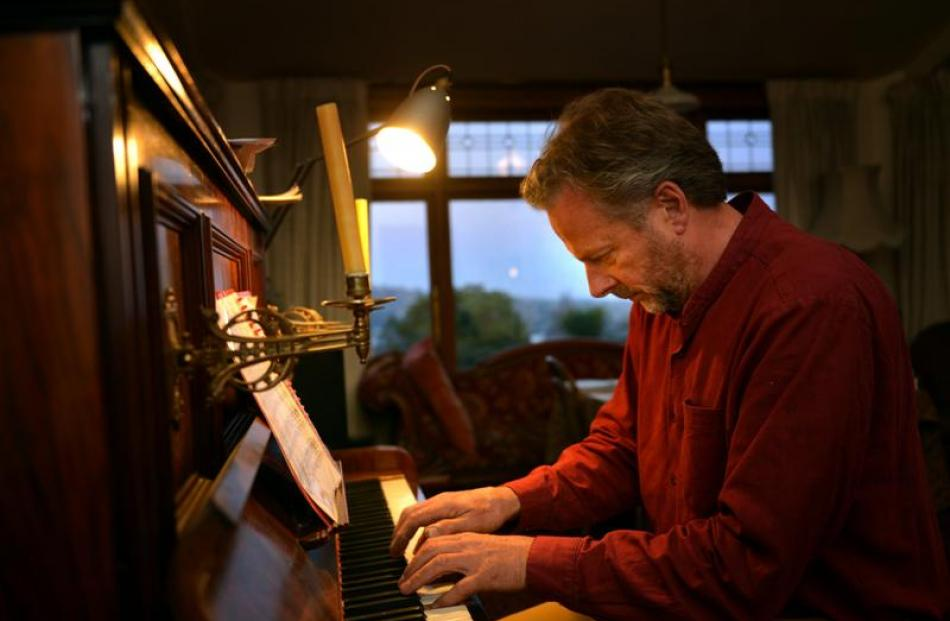 Lee Vandervis loves classical music and used to play in the Dunedin Civic Orchestra. Photo by...