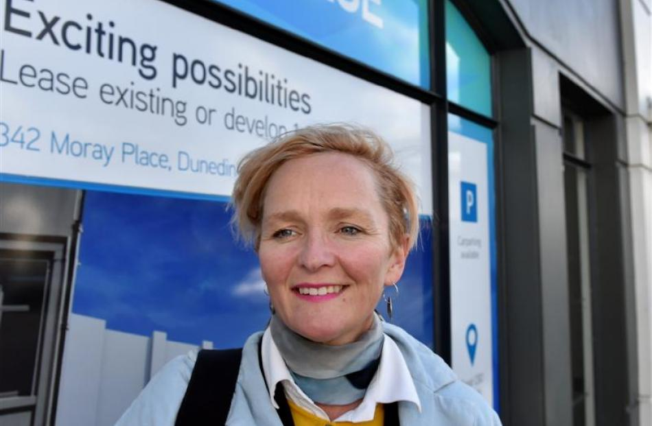 Letting Space director Sophie Jerram, of Wellington, is in Dunedin helping set up a project to...