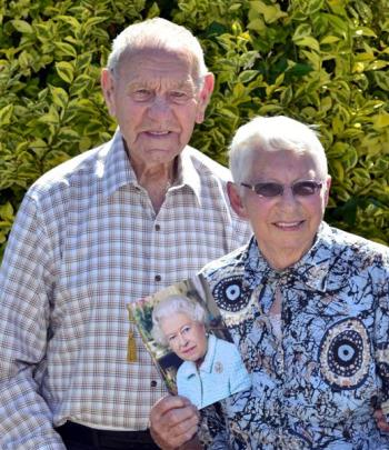 Lillian and Eric Brinsdon, of Mosgiel, celebrate their 75th wedding anniversary today, for which...