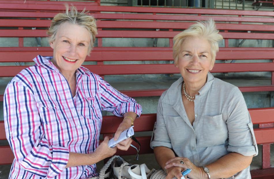 Linda Joyce and Liz Duke, of Rangiora.