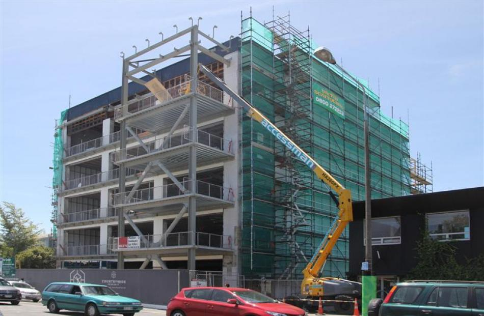 Listed companies close to the Canterbury rebuild can expect increasing workloads as the $40...