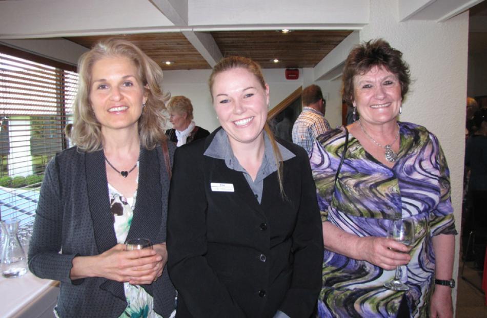 Liza Devine of Queenstown, Tina Dixon of Tauranga, and Jane Loe of Arrowtown.
