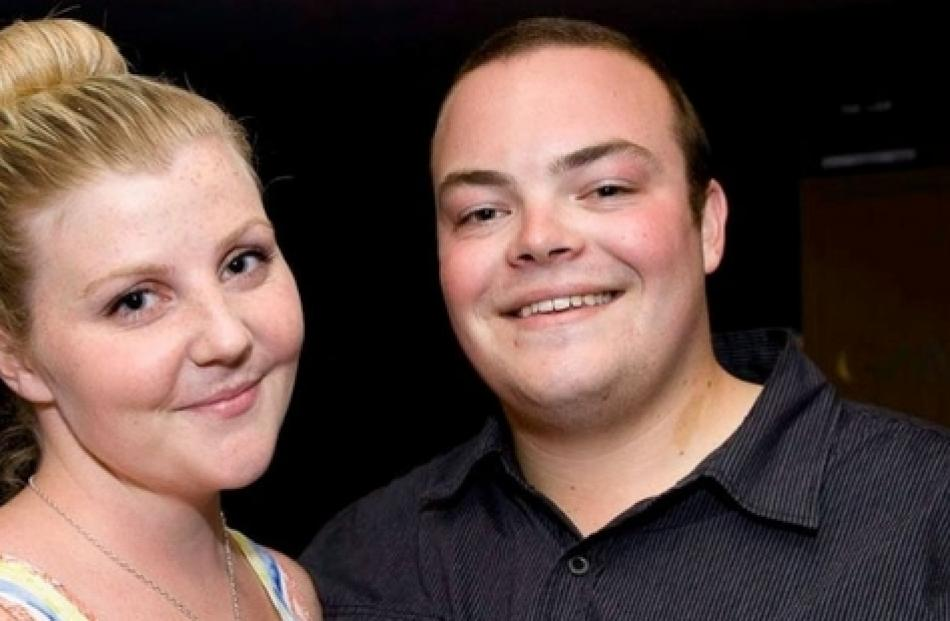 Luke MacKenzie, pictured with girlfriend Ashley Sheppard, died in Flat Bush.