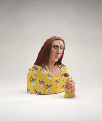 "Premier Portage Awards winner ""The Space Between"" by Invercargill-raised ceramicist Louise Rive...."