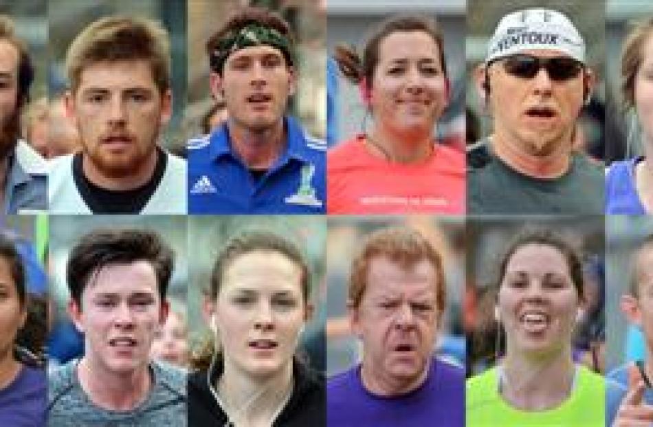 Marathon competitors in action. Photos by Gerard O'Brien. Click to enlarge