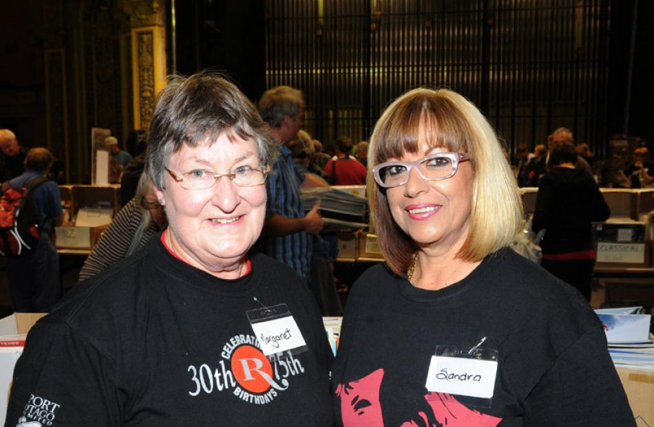 Margaret Middlemiss and Sandra Nixon, both of Dunedin.