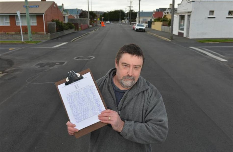 Marlow St resident Trevor McStay has gathered 270 signatures in petition to reopen access to the...
