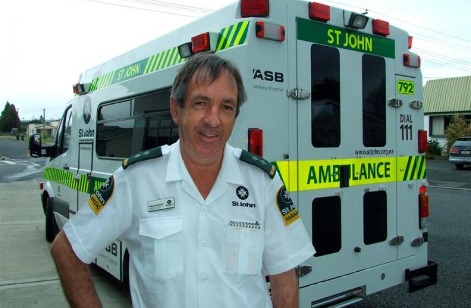 Milton St John operational team manager Malcolm Flett says serving with St John involves...