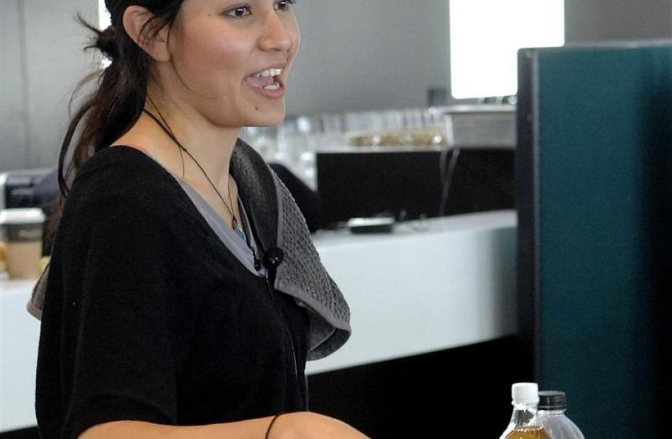Healthy food made deliciously simple otago daily times online news nadia lim the winner of the 2011 season of masterchef nz and a dietitian forumfinder Images