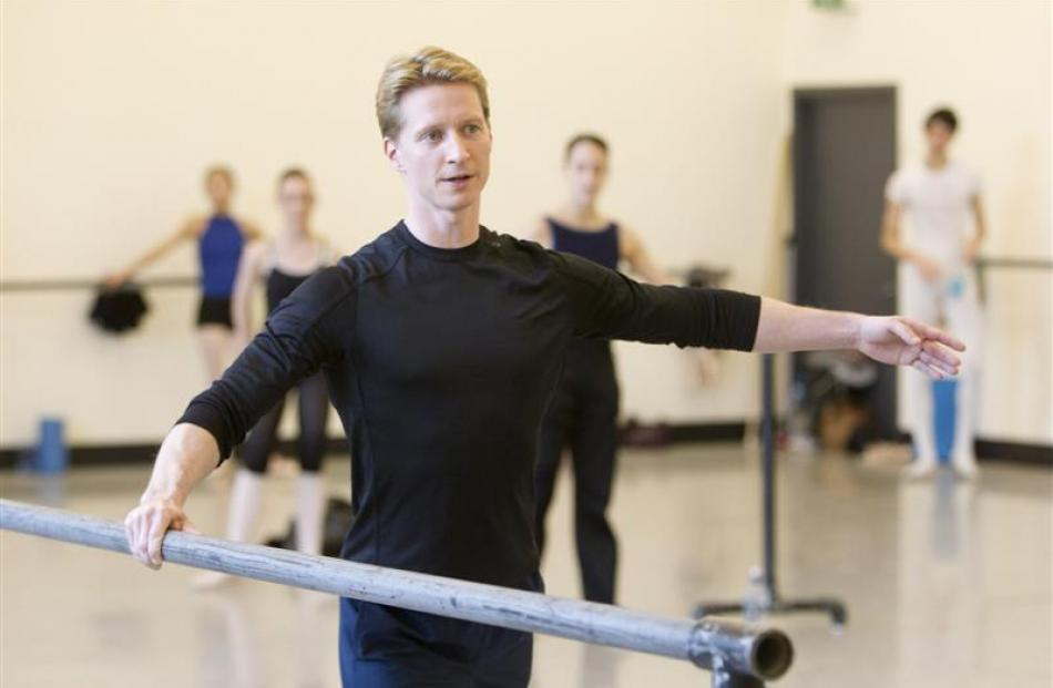 New Royal New Zealand Ballet artistic director Ethan Stiefel.