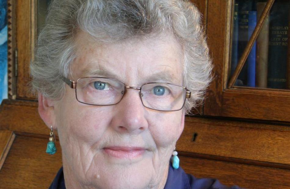 New Zealand author Jenny Pattrick. Photo supplied.
