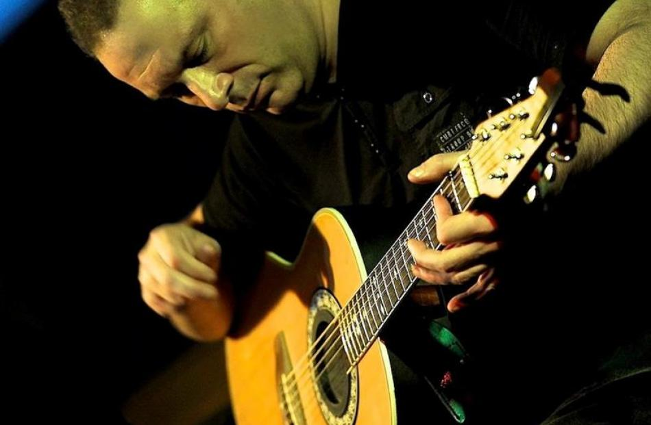New Zealand Gold Guitar award-winning singer-songwriter Dave Coleclough, of Dunedin, joins forces...