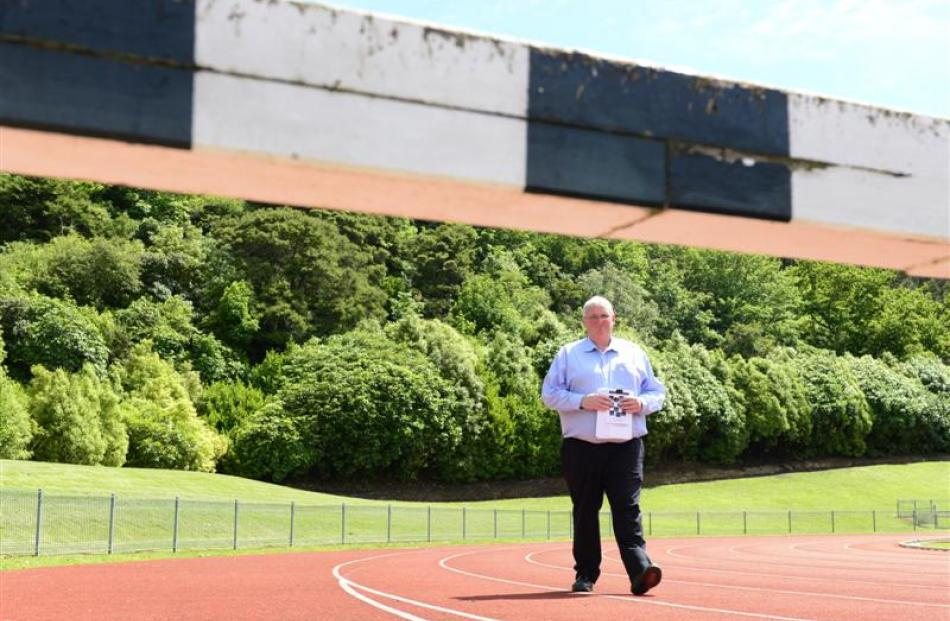 New Zealand secondary schools track and field championships organising committee chairman Andrew...