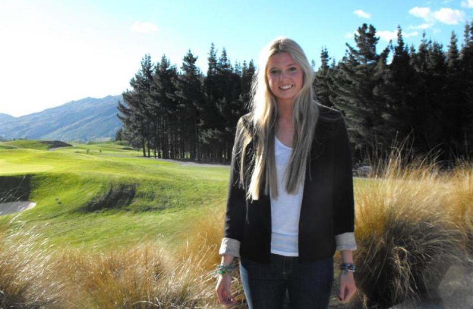 New Zealand teenage singer Jamie McDell at The Hills  last year.  She will  perform at the PGA...