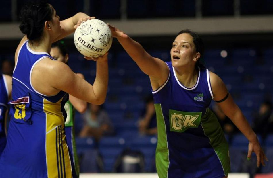 Northern Mystics defender Rachel Rasmussen looks forward to joining the Steel for next year's ANZ...
