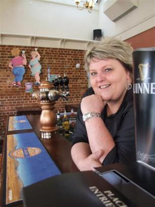 Oamaru publican and restaurateur Sally-Ann Donnelly, behind the bar at Fat Sally's,  reflects on...