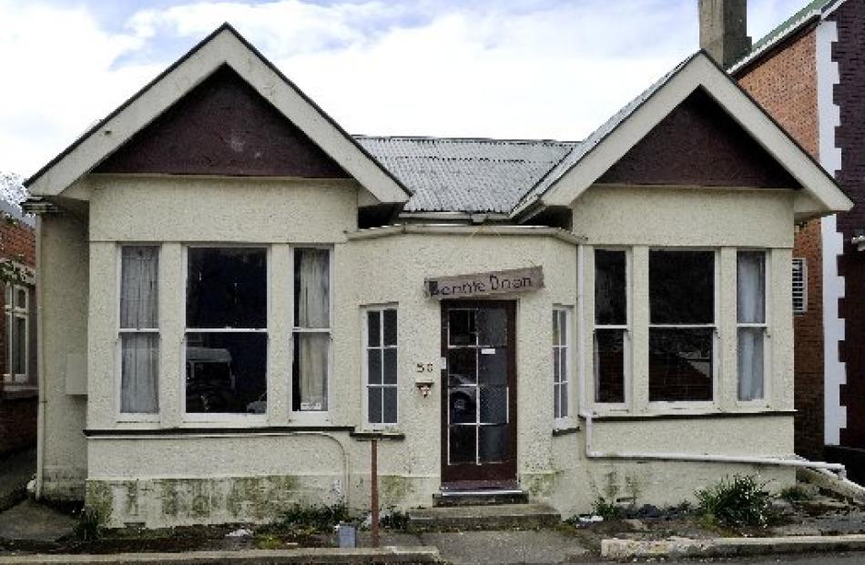 Officially, Dunedin's worst student flat, Bonnie Doon.