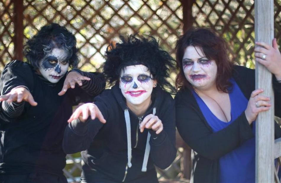 Halloween hair-raiser seeks therapeutic effect   Otago Daily Times