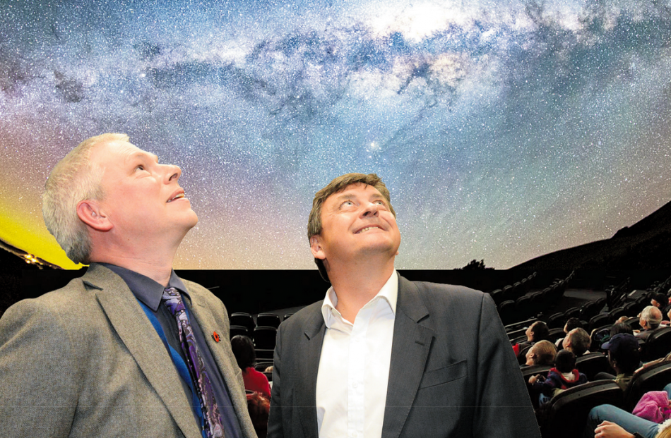 Otago Museum director  Ian Griffin and Perpetual Guardian founder Andrew Barnes consider what the...
