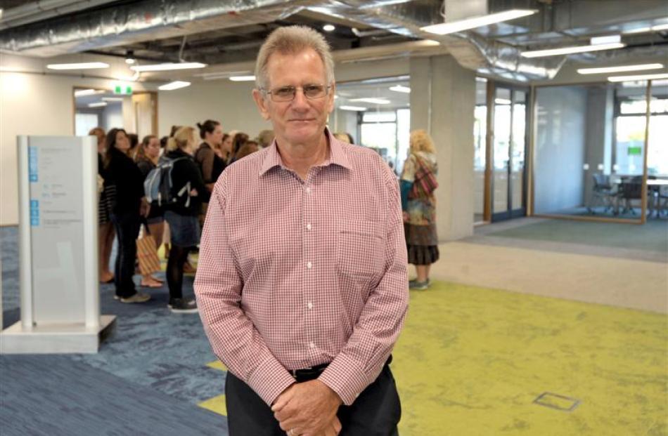 Otago Polytechnic chief executive Phil Ker. Photos by Christine O'Connor.