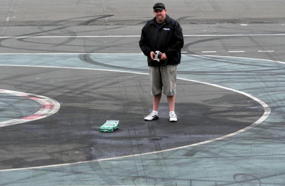 Otago Radio Control Car Club president Jamie Scott, of St Kilda, says vandalism to the club's...