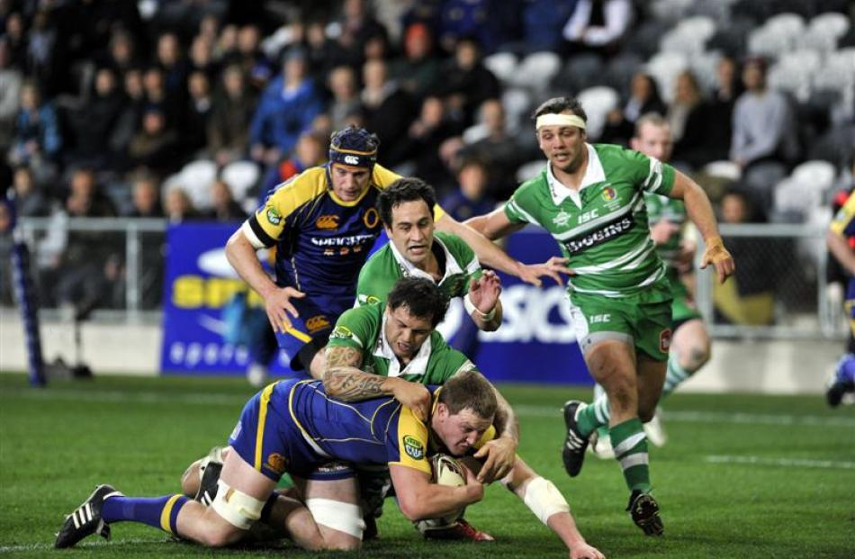 Otago's game against Manawatu in August 2011 may be the last match the team plays at the Forsyth...