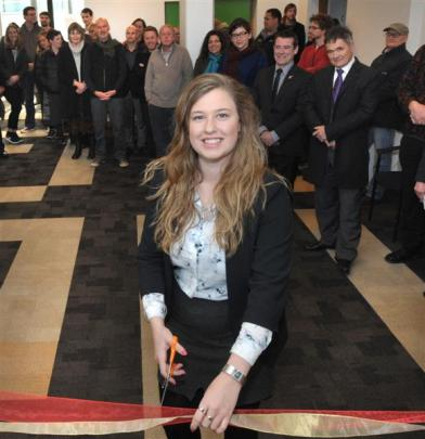Otago University Students Association president Ruby Sycamore-Smith opens the association's...