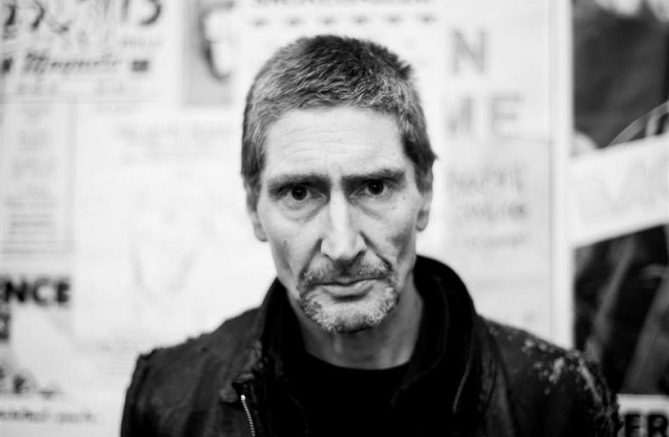 Peter Gutteridge, of Dunedin band Snapper, heads the playlist of Dunedin groups  at the Dunedin...