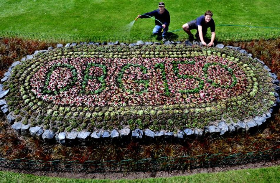 This 3-D display will mark the 150th anniversary of New Zealand's oldest public gardens next...
