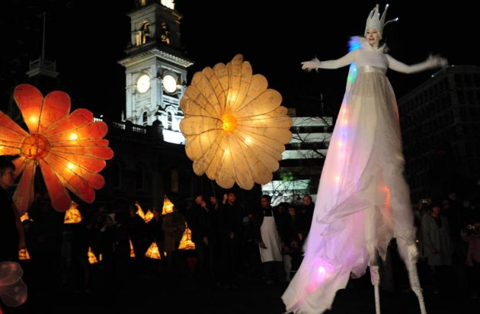 Pictured is Dunedin's Midwinter Carnival in 2009. Photo by Craig Baxter.
