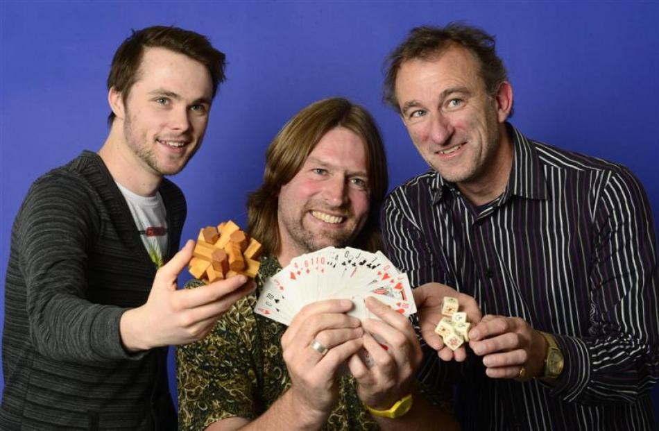 Planning the 2012 Dunedin Theatre Awards are (from left) Hadley Taylor, Paul Hansen and Patrick...