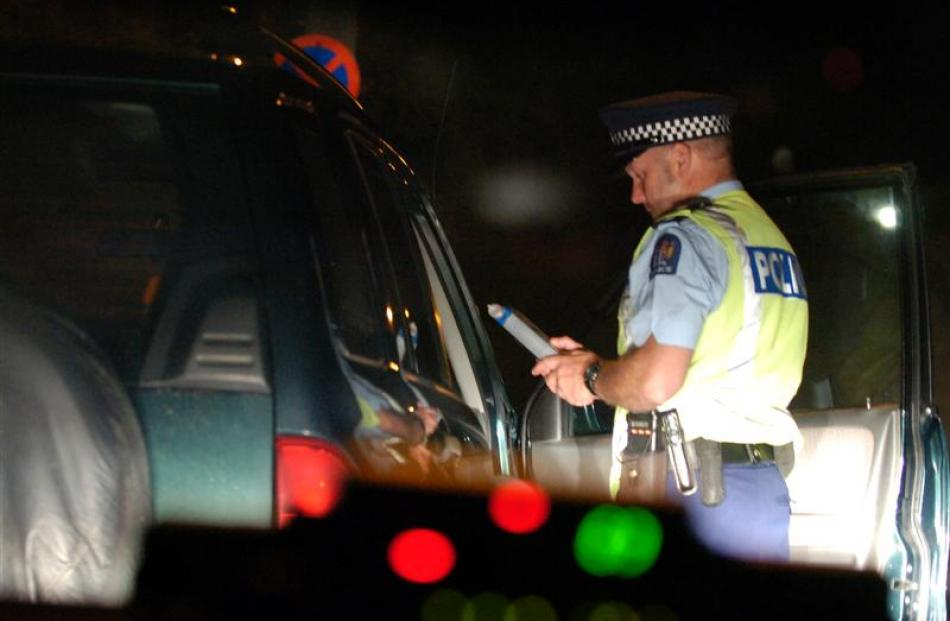 Police will be testing motorists for alcohol and drug consumption at checkpoints around the...