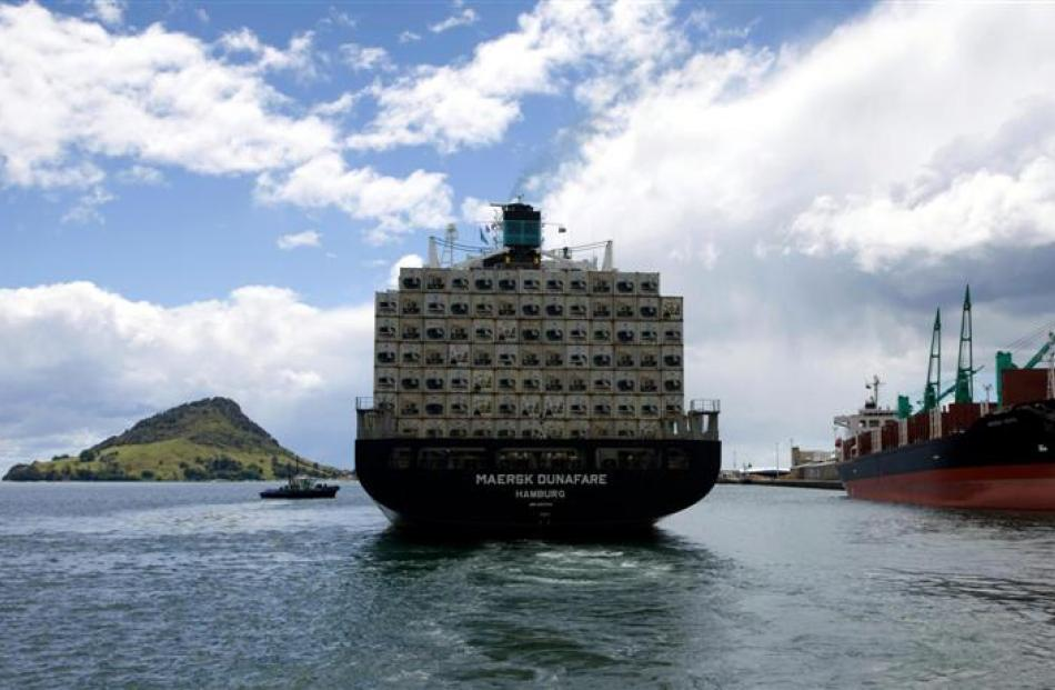 Port of Tauranga  is taking  the lead on port rationalisation. Photo supplied.