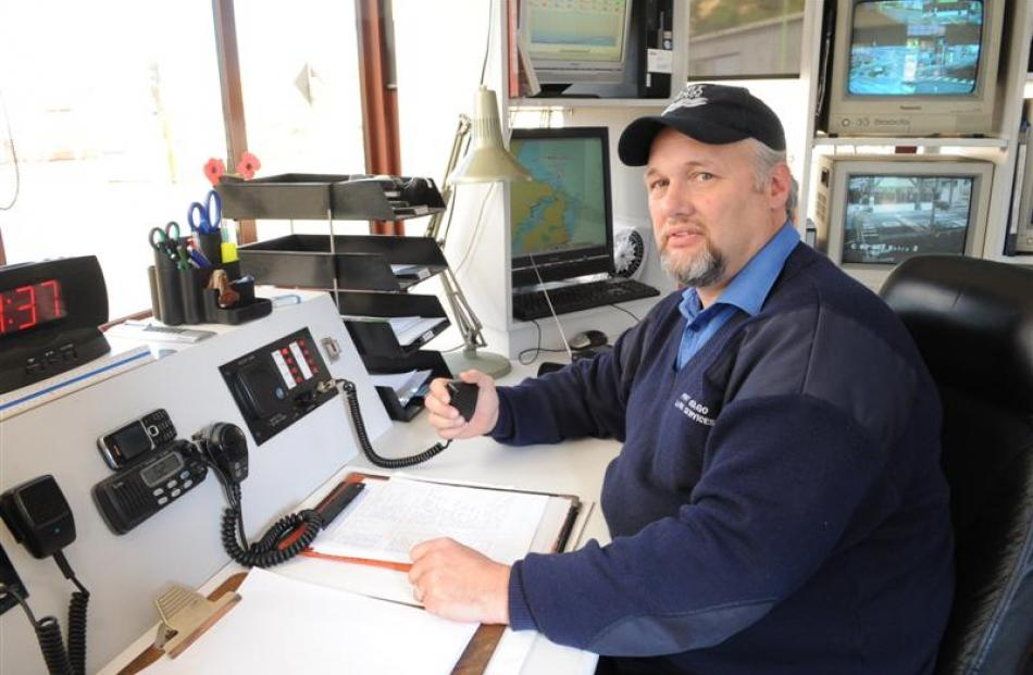 Port Otago Harbour control officer Brian Byas - hailed as a hero - was able to provide the...