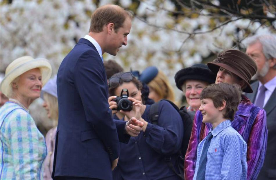 Prince William will be in New Zealand next week. REUTERS/Toby Melville