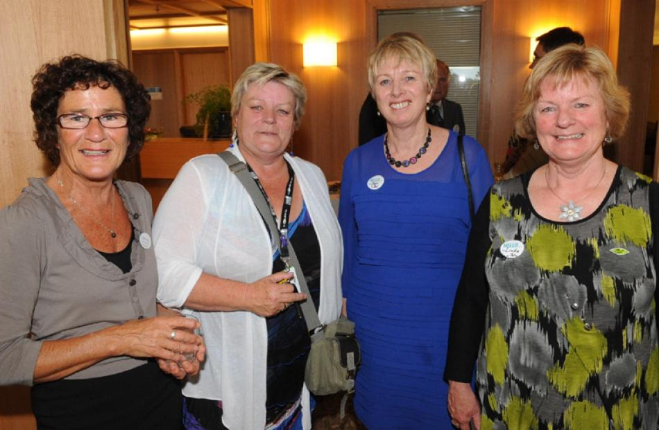 Principal nurse manager Lyneta Russell, Marie Bennett, Sherry Lilley, and Linda Kinniburgh, all...