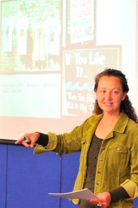 Prof Patricia Widener.